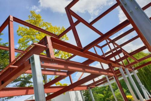 Structural steel structure by Steelo in Riverbank, Maidenhead